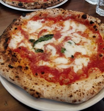 Margherita (Pizzeria Laboratorio Pizza, Tower Hamlets, Londra)