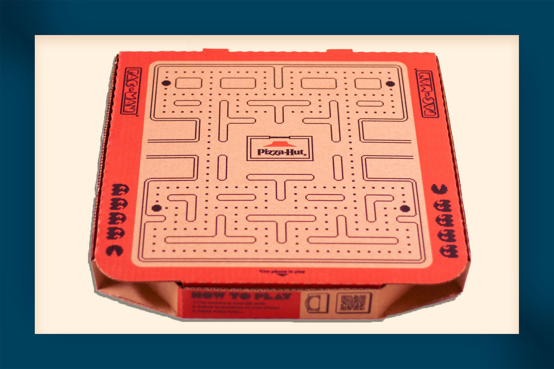 Pizza Hut Box Pac-Man
